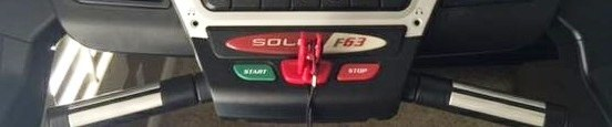 sole f63 treadmill logo